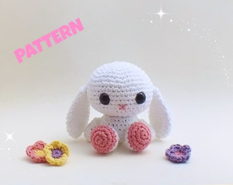 Amigurumi Easter Bunny Pattern, Easter Rabbit Pattern, Crochet Easter Pattern, Amigurumi Easter Pattern, Easter Toy Pattern, Easter Doll Toy