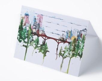 UB Bridge Greeting Cards || Set of 5