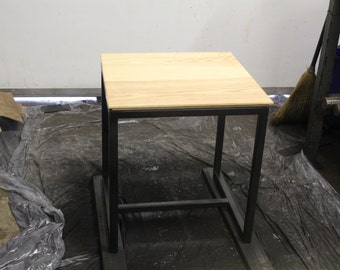 Industrial modern end tables