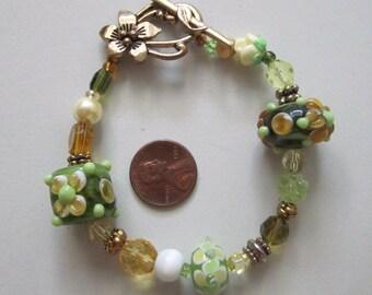 Green Spring Bracelet
