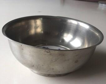 Vintage, Kent, Pewter Bowl.