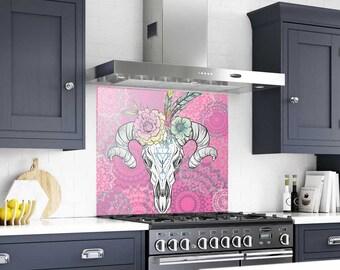 Splashback Tile, Backsplash Tiles For Kitchen, Backsplash, Kitchen Splashback, Kitchen Backsplash, Mandala Glass