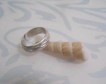 Toe ring, silver toe ring, floral toe ring, bridal toe ring, summer toe ring, bridal jewelry,