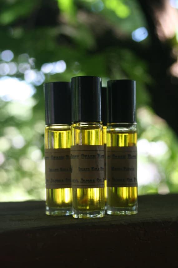 Natural Jojoba Oil Perfume Oil-Lavender & Apple