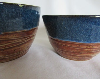 Stoneware Serving Bowls - Set of 2