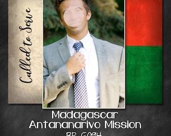 LDS Missionary, Missionary Address Cards, LDS, Printable, Elder, Sister