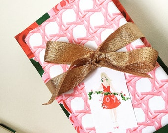 Wrapping Paper: Pink Cane