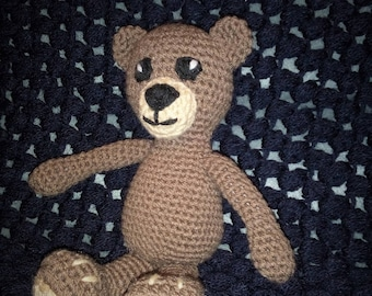 little teddy bear crochet