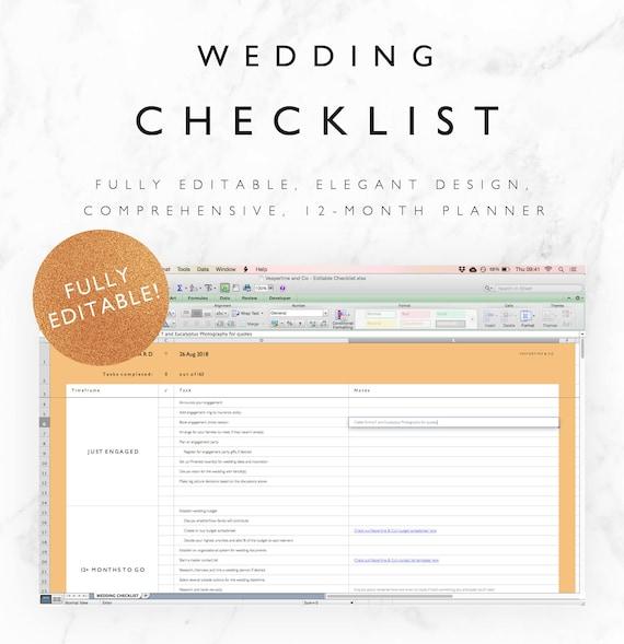 Hochzeit checkliste word