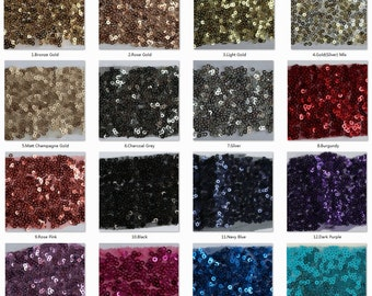 Sequin Color Swatches