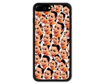 Kim Kardashian iPhone 7 / 7 Plus / 8 / 8 Plus Case Crying Face Collage