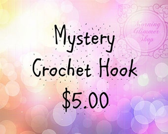 Mystery Ergonomic Crochet Hook