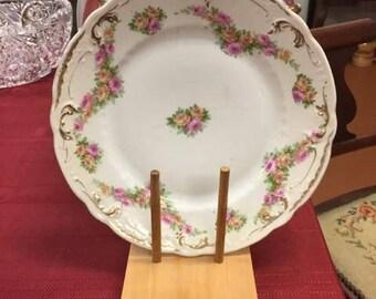 Vintage desert plate