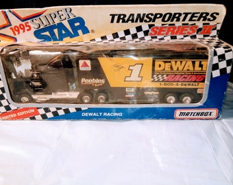 Vintage DeWalt Racing Limited Edition Super Star Transporters Series II 1994 Matchbox