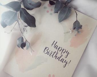 Plantable Birthday Greeting Card