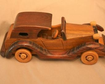 Wooden Antique Classic Car