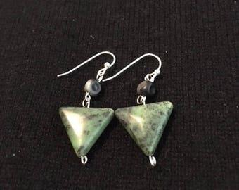 Unique Zoisite Earrings