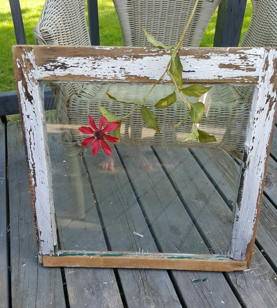 Old Wood Window , Window Frame, Single Pane Window, Antique Window ...