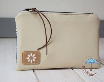 """Simple clutch """"floral beauty"""""""