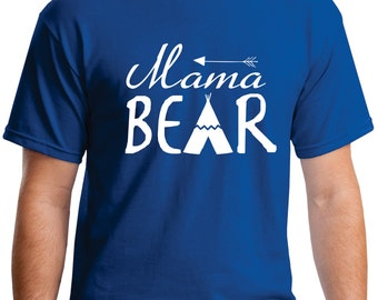 Mama bear shirt, mamma bear shirt, Mama bear Personalized womens Mothers Day gift gift for Mom wife gift wifey shirt mom gift mom shirt