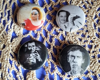 Queer Artists: 1 Inch Pinback Buttons
