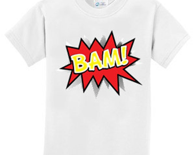 Bam Cartoon Voice Box  T-Shirt