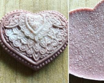 Lavender Himalayan Pink Salt Soap