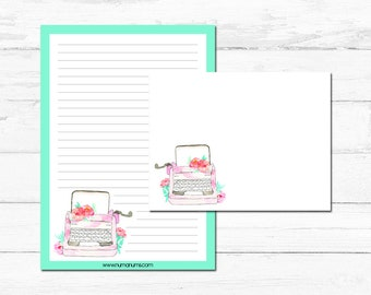 Stationery set | typewriter love | letter writing set