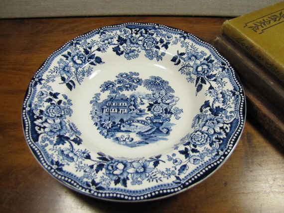 Like this item? & Vintage Tonquin Royal Staffordshire Dinnerware Shallow Soup