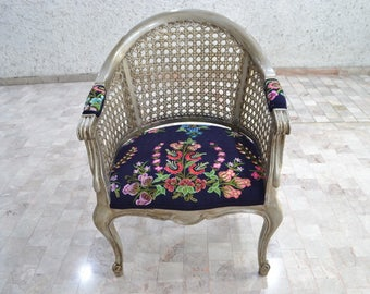 Embroidered Single Armchair Mexico