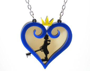 Kingdom Hearts Sora Silhouette Necklace