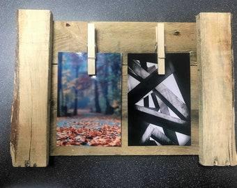Medium Beach Wood Peg Frame