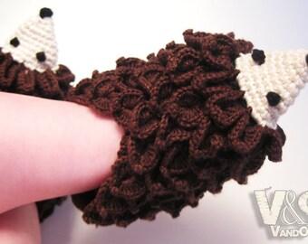 Crochet Pattern Baby Slippers Hedgehogs, Crochet Pattern PDF, Slippers pattern PDF