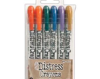 Ranger Tim Holtz Distress Crayons SET 9