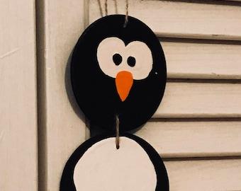 Decorative Door Hanger - Penguin