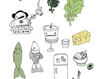 Food Mix 2 - print