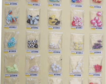 150 pcs Kids Buttons cute styles - assorted 25 styles-CLEARANCE
