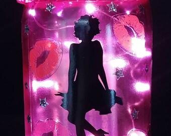 Material Girl Marilyn Monroe Light