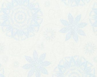 Bohemian Blues from Timeless Treasures By Judy and Judel Niemeyer JN C5770 Grey