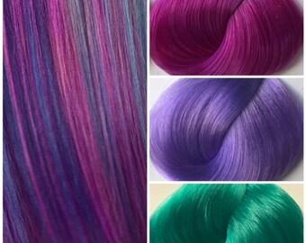 Nylon Doll Hair, Custom Color Blend, Smitten Kitten Blend Tress, Rerooting