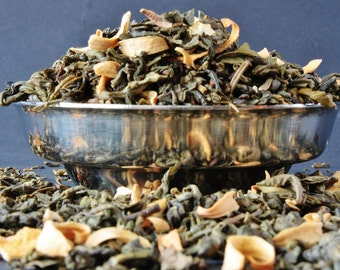 Green Earl Grey - Green Tea - Loose Leaf Tea - Tea - Tea Gift