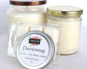 Chardonnay - Hand-poured Soy Candle