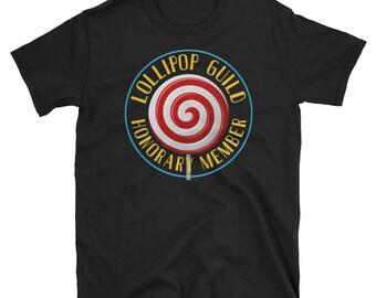 Lollipop Guild Shirt, Honorary Member, Wizard of Oz Shirt, Lollipop Guild, Lollipop Guild Costume, Wizard of Oz