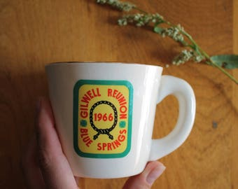 Vintage Gilwell Reunion Blue Springs mug