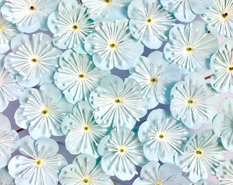 Paper Flower Template, Six-Petal Flower Pick (SVG & DXF)