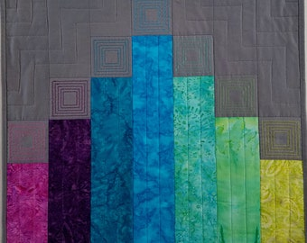 Batik Embroidered Wallhanging