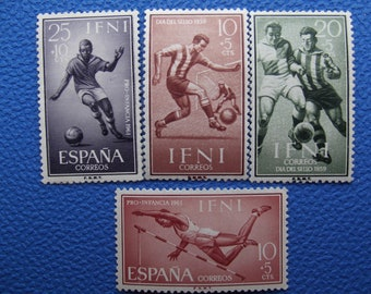 Stamps. Spain, Spanish colony 1961