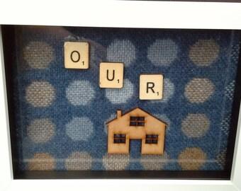 memory box - Our House - memory box white
