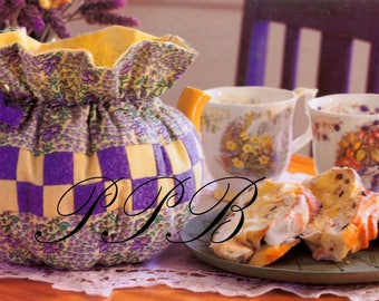 Sewing Pattern ... Patchwork Tea Cosy ... Tea Cosy Pattern ... Home Decor ... PDF Sewing Pattern ... Gift Fair Fete Item