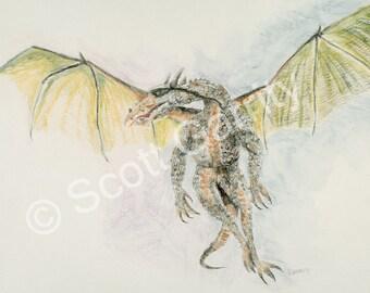 Dragon - Set of 10 Notecards